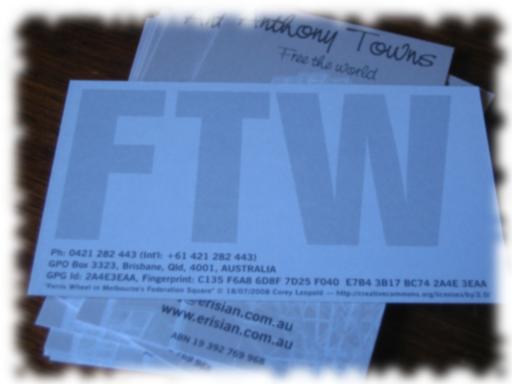 FTW card
